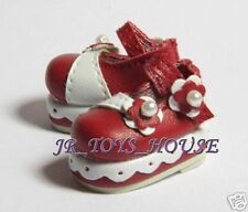 Red Lorita shoes D39 fits Riley Kish blythe Lati barbie Pullip DAL