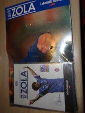 DVD GIANFRANCO ZOLA MR.10 + DOPPIO POSTER CAGLIARI CHELSEA ITALIA CALCIO