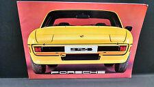 1977 Porsche 924 Prestige Sales Brochure MBX8