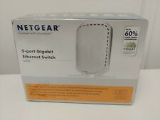 Netgear 5 Port Gigabit Ethernet Switch GS605 BNIB @HG45