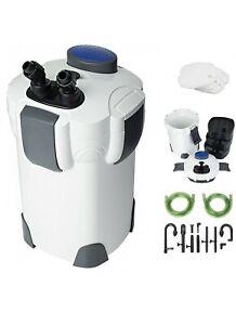 Aquarium external filter 2000LH (Sunsun 304a) 3 Layers of Media. EU plug