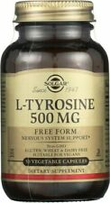 Solgar L-Tyrosine 500mg 50 Vegetable Capsules