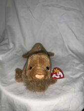 Rare Retired Ty Beanie Baby Paul The Walrus 1999 Mint P.E. Pellets With Errors