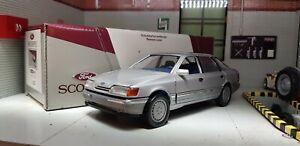 1:24 Modello Ford Granada Scorpio Ghia Argento Schabak Modellino 1:25