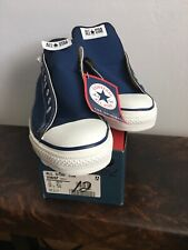 USA Vintage Converse Chuck Taylor's All Stars NEW-IN-BOX Sz 12 Navy Lo Top