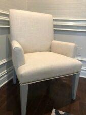 2 Brand New Custom-Made Mitchell Gold Bob William Dining Chairs