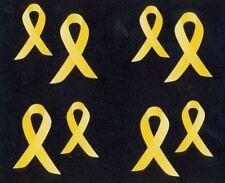 ~ Retired NLA Yellow Awareness Ribbon Cancer Grossman Stickers ~