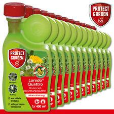 Protect Garden 12 x 400 ml Loredo Quattro Universal-Rasenunkrautfrei Weißklee