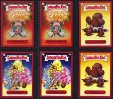Red Parallel July Week 5 Garbage Pail Kids Bizarre Holidays card set Adam Bomb