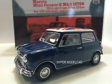 KYOSHO 1/18 Morris Mini Cooper MKI 1275S 1959 Blue With The Union Jack 08108BU