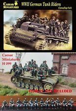 Caesar Miniatures 1/72 WWII German Tank Rider (Camouflage Suit) # H099
