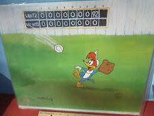 WOODY WOODPECKER Hand Painted CEL w/COA signed Walter Lantz Ltd. 134/200