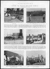 1898 Antique Print - INDIA Bombay Plague Burning Ground Mahalakshmi Pyre (125)