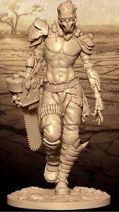 1/24 Resin Figure Model Kit CyberPunk Hermit Desolator Unpainted Unassambled