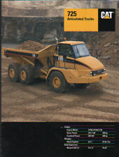 "Caterpillar ""725"" Articulated Dump Truck Brochure Leaflet"