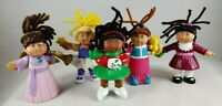 "CPK Mini Cabbage Patch Kids 3.5"" Vintage Figures Poseable Lot 1992 1994"