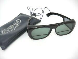 Fisherman Eyewear Floatable Sunglasses w 2.50 Bifocal Readers with Strap