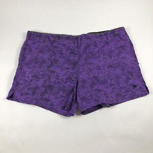 Speedo Vintage men's Size XL Purple Mesh Lined swim suit Trunks
