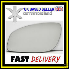 Left Passenger Side Wing Mirror Glass  VAUXHALL VECTRA C MK3 2002-2008 Convex