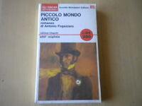 Piccolo mondo anticoFogazzaro AntonioMondadoriLibrooscar 85 storia Nuovo