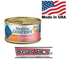 Blue Buffalo Healthy Gourmet Salmon Grilled Recipe Canned Cat Food 24 or 48 Pack