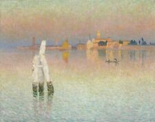Emile Claus View Of Murano Glow Of The Sunset Canvas Print 16 x 20    # 4858