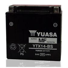 YUASA MOTORRAD-BATTERIE YTX14-BS YTX 14-BS 12V 12Ah NEU !!!