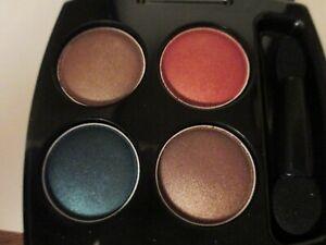 Avon True Color Eyeshadow Quad Caribbean Sunset 5.6 g net wt 0.20 oz Light.
