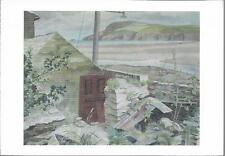 Polzeath, Cornwall - Pentire Head - art gallery postcard by Sanderson