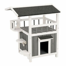 "Trixie Natura Pet's Home with Shade Grey Cat Furniture, 29.75"" H"