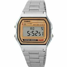Casio A158WEA-9CF Men's Silver Classic Digital Bracelet Watch