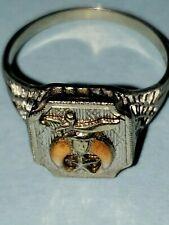 Masonic Shriner Vintage ring.