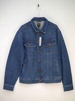 Lee Rider Jacket Jeansjacke Jacke Regular Fit Vintage Herren Größe M