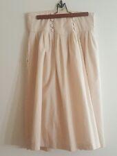 Woman Pink Vintage Skirt Size Medium Falda de Mujer