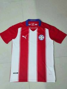 Paraguay Home Jersey Player Version Puma DryCell