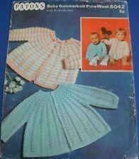 Patons Childrens Cardigans Knitting Pattern 6042