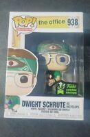 Funko Pop! Dwight Schrute Recyclops #938. The Office. Official ECCC 2020 Sticker