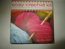 New listing Cozy Crochet Kit Melissa Leapman New Instructions, material, manual, instruction