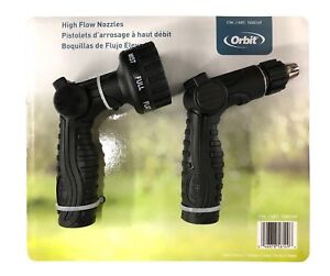 NEW Orbit High Flow Watering Nozzles 2 Pack - BOX OF 7!! - BOX OF 7 TWO PACKS!!