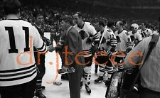 1971 Bill White CHICAGO BLACKHAWKS - 35mm Hockey Negative
