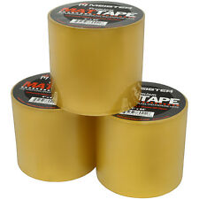"""MEISTER PREMIUM MAT TAPE - CLEAR Wrestling, Gym, Grappling & Exercise Lot 3"""" 4"""""""