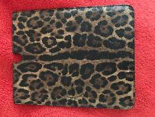 DOLCE & GABBANA Estampado de Leopardo IPAD P2 TABLET/EBOOK Cubierta