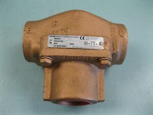 "1-1/2"" NPT Amot Roper Model E Bronze Thermostatic Valve NEW L24 (2877)"