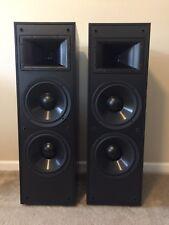 Pair Klipsch KLF 10 Black Speakers
