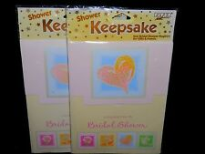 KEEPSAKE BRIDAL SHOWER REGISTRY (2) - FAST FREE SHIPPING