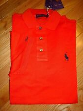 NWT $350 Ralph Lauren Short Sleeve Purple Label Made In Italy Polo Shirt sz M