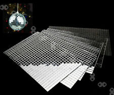 5 X 600pcs Mirror Tiling Mosaic Tile Self-adhesive Tiles DIY Xmas Decoration AU