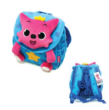 Pinkfong Backpack for Missing Child Prevention Kids Toddler Bag Baby Shark(Blue)