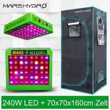 Mars Hydro Reflector 240W Led Grow Light lamp+70x70x160 Grow Zelt Tent Dark Room