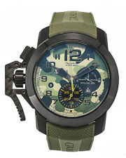 GRAHAM CHRONOFIGHTER OVERSIZE BLACK ARROW CHRONOGRAPH AUTOMATIC WATCH $8,050